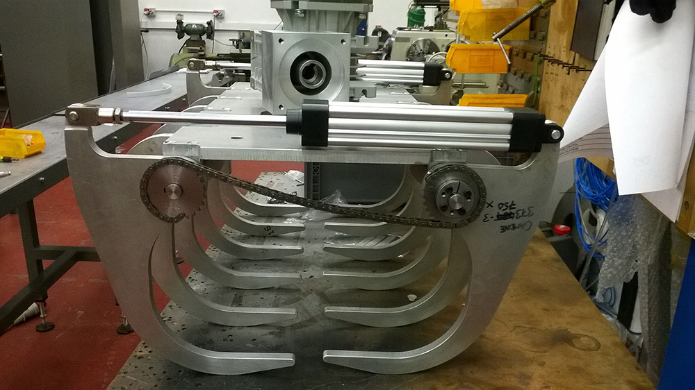 Robot Grippers - Camline Palletising Systems